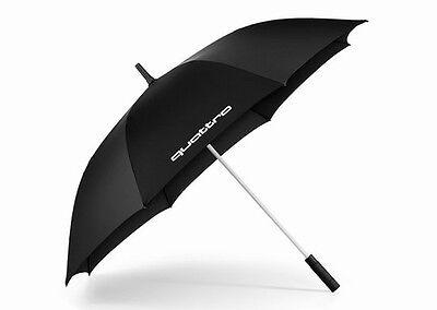 Audi Regenschirm, Audi Stockschirm, quattro Umbrella, gross schwarz