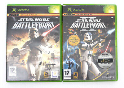 XBOX ORIGINAL STAR WARS BATTLEFRONT 2X GAMES