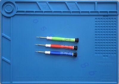 Silicone Mat Heat Resistant Hot Air Soldering Station Repair Pad Platform35x25cm