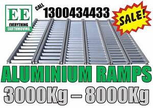Aluminium Ramp and Pallet Fork SALE suit Skid Steers, Excavators Carrum Downs Frankston Area Preview