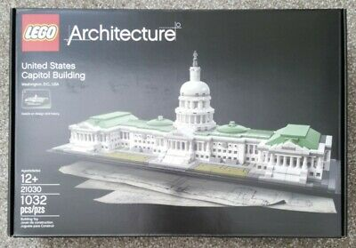 NEW IN BOX LEGO ARCHITECTURE 21030 UNITED STATES CAPITOL BUILDING 1032 PIECES