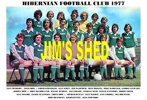 HIBERNIAN-F-C-TEAM-PRINT-1977-HIBS