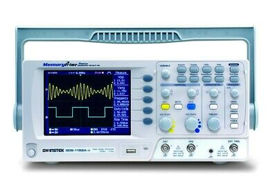 Instek Gds-1152a-u 150 Mhz 2 Ch Digital Oscilloscope New