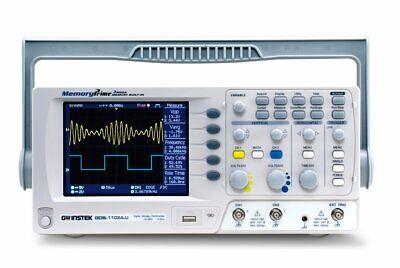 Instek Gds-1102a-u Digital Oscilloscope 2ch W Tft Color Lcd Display 100mhz