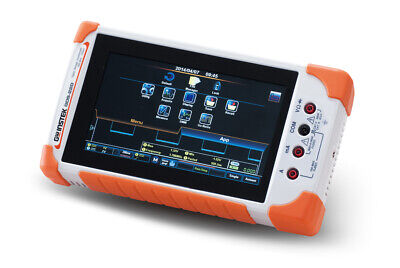 Gw Instek Gds-207 Digital Storage Oscilloscope 70mhz Dso 2 Channels 1gss Dmm
