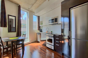 475sf FURNISED-Vieux Montreal,M94, studio, Pool, Gym, rooftop,