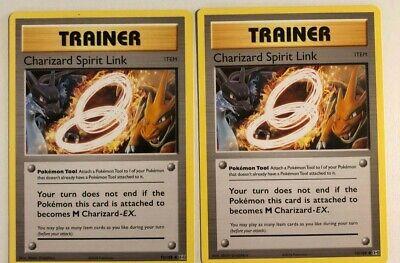 Charizard Spirit Link 75/108 Pokemon XY Evolutions 2 card lot NM