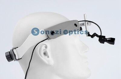 Sz-3 Adjustable High Brightness Dental Surgical Headlight Using For Surgery