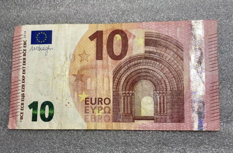 2014 - 10 Euro Paper  Money
