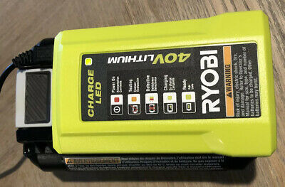 Ryobi 40v Lithium Ion Battery Charger OP404