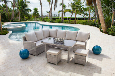 Athens 5 PC Sectional Dining Set