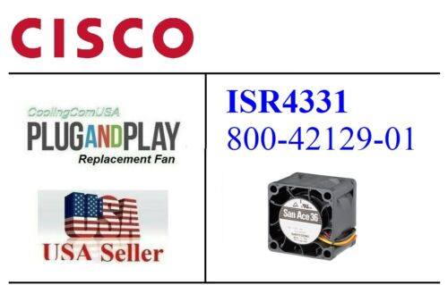 1x Replacement (Fan Only) for Cisco ISR4331 800-42129-01