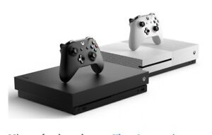 LOOKING FOR A XBOX ONE CONSOLE OR BUNDLE!