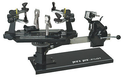 Pro's Pro Pilot Tennis Squash Badminton Racquet Racket Stringing Machine