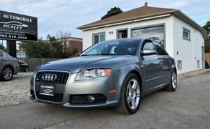 2008 Audi A4 2.0T S-LINE QUATTRO LEATHER AWD NO ACCIDENT