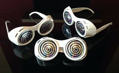 Willy Wonka TV ROOM Style GOGGLES GLASSES Chocolate Factory (Wonka Goggles)