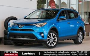 2016 Toyota RAV4 Limited - AWD FULLY EQUIPPED! GPS! BACK UP CAME