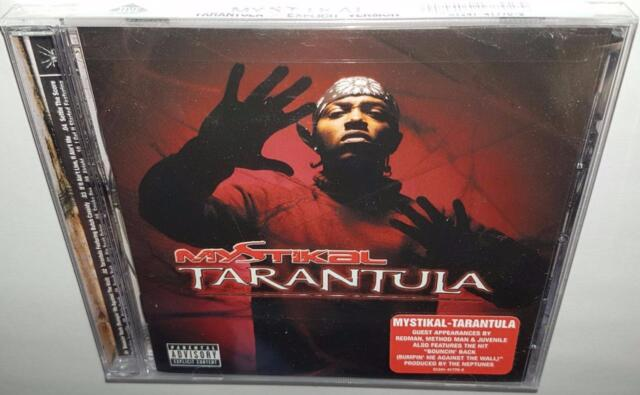 MYSTIKAL TARANTULA (2001) BRAND NEW SEALED CD REDMAN & METHOD MAN JUVENILE