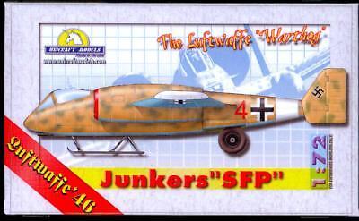 """Unicraft Models 1/72 JUNKERS SFP The Luftwaffe """"Warthog"""" Gro"""