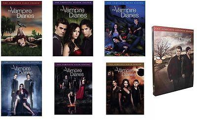 The Vampire Diaries Seasons 1 7 New Dvd Set 1 2 3 4 5 6 7
