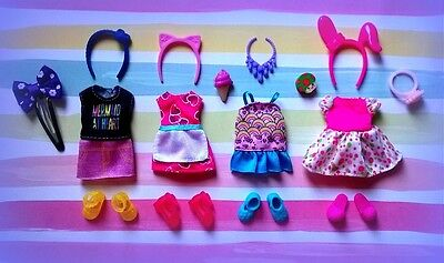 🍰🍰🍰Barbie Chelsea Kelly doll clothes,accessories plus shoes🍰🍰🍰*NEW*