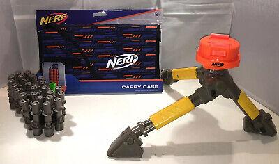 Nerf N-Strike Vulcan Tripod, Ammo Belt & New Carry Case Accessories Lot