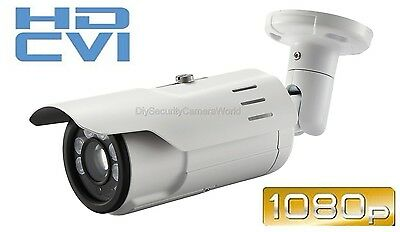 Long Range - 2.4mp 1080p Hd-cvi Indoor/outdoor Bullet Security Camera - 300' -