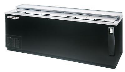 Beverage-air Dw94hc-b 95 Flat Top Sliding Door Deep Well Bottle Cooler