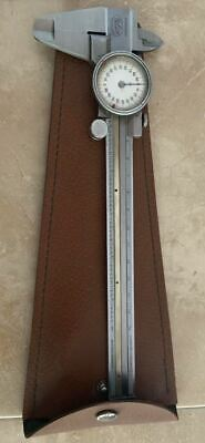 Helios Vernier Caliper Micrometer Stainless Steel Made In Germany With Case