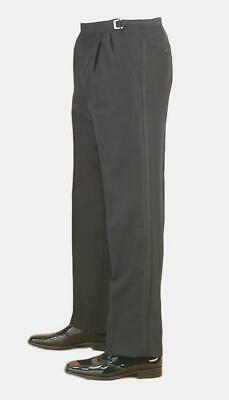 100% Wool Black Tuxedo Pants w/ Minor Damage - Costume & Stage Wear Only (Black Tuxedo Costume)