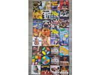 Dvds music cds newspaper promos