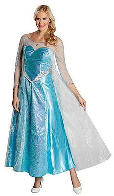 Elsa Frozen Damenkostüm NEU - Damen Karneval Fasching Verkleidung - Damen Frozen Kostüm