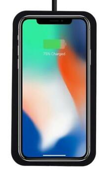 iPhone X/XS 8/8+ Qi draadloze oplader wireless charger zwart