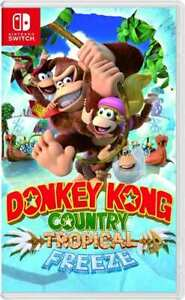 Donkey Kong Tropical Freeze for Nintendo Switch