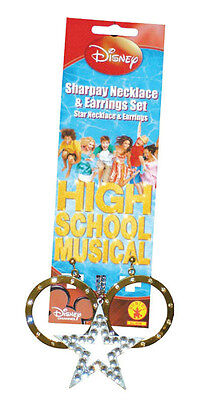 High School Musical Sharpay Star Necklace and Earrings Costume Accessory Set