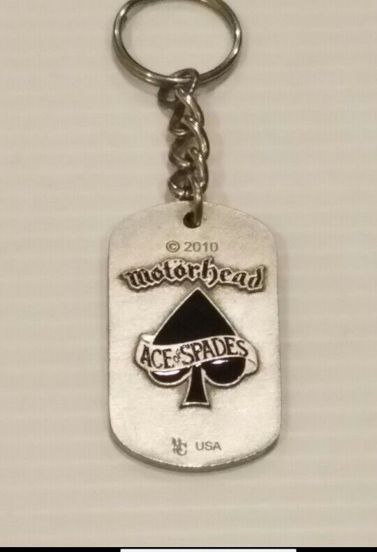 Motorhead 2010 Dogtag With Chain.very hard to find.very collectible