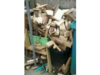 Large amount timber off cuts suitable for fire wood