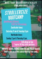 Stroll into Fitness---> Get fit with your baby!