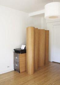 FUTON 's Screens bamboo 6f width *70in high , pristine Brighton