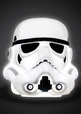 Star Wars Official Merchandise Large Stormtrooper Helmet 3D Mood Light BNIB