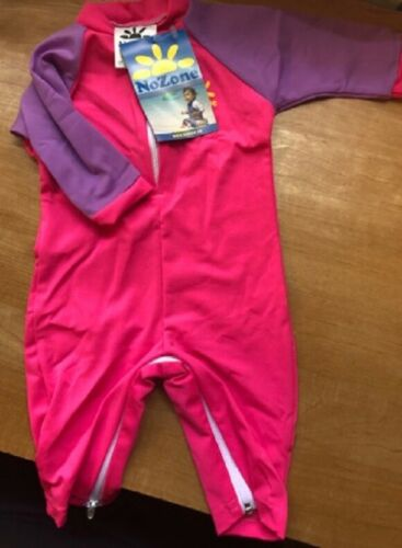 NO ZONE SUN PROTECTIVE WEAR FOR INFANT GIRL