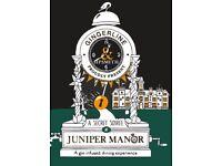 Juniper Manor Dining Experience