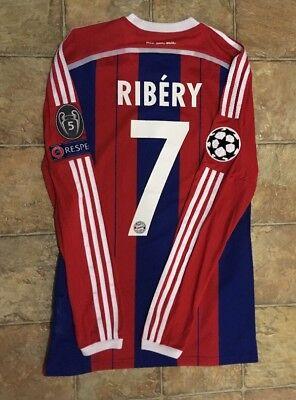 64570cb4d Adidas Bayern Munich 14 15 Home Jersey Player Issue Adizero Size 7