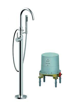 Badewannenarmatur freistehende Standarmatur / Wannen-Armatur und Grundkörper