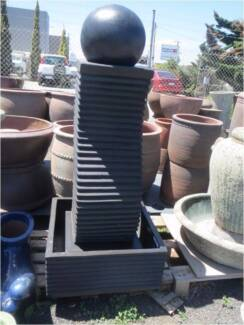 WATER FEATURES 30-50% OFF POTS GARDEN TROUGH STATUES BOWLS Hoppers Crossing Wyndham Area Preview