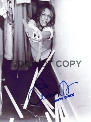 Jamie Lee Curtis Halloween Michael Myers Signed Autographed Reprint