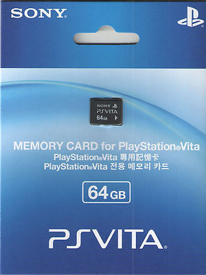 Sony Ps Vita (playstation Vita) Memory Card 64 Gb - Ships...
