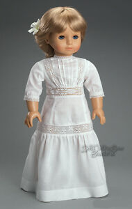 Edwardian-Victorian-White-Dress-Gown-made-for-American-Girl-SAMANTHA-Dolls