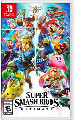 Super Smash Bros Ultimate - Nintendo Switch / lite [Brand New] USA VERSION