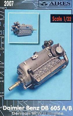 Aires Db-605a/B 605 a Daimler-Benz Engine Model Kit 1:3 2 Engine German